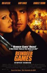 Reindeer Games movie poster [Ben Affleck/Charlize Theron] video poster